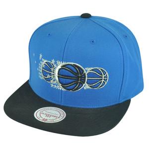 NBA Mitchell Ness HWC Orlando Magic NP57 Triple Stack Logo Snapback Hat Cap