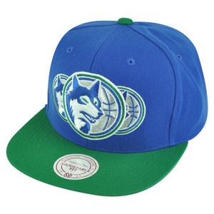 NBA Mitchell Ness HWC Dallas Mavericks NP57 Triple Stack Logo Snapback Hat Cap