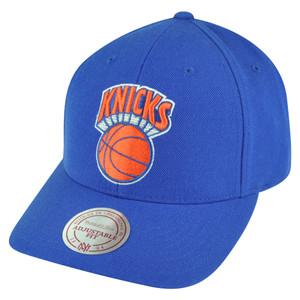 NBA Mitchell Ness New York Knicks NJ07 Low Pro Coaches Snapback Hat Cap HWC Wool