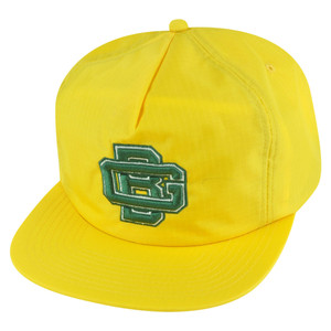 NFL Mitchell Ness NK84 Zipback Flat Bill Vintage Logo Green Bay Packers Hat Cap