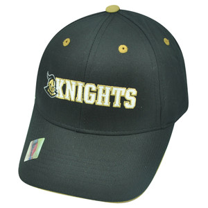 NCAA Central Florida Knights UCF Tip Top Twill Cotton Velcro Strapback Hat Cap