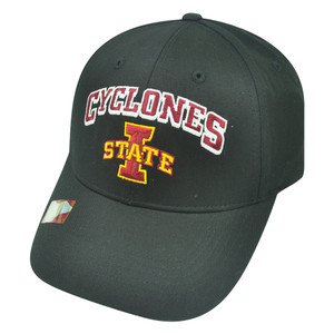 NCAA Iowa State Cyclones Kicker Twill Cotton Adjustable College Velcro Hat Cap
