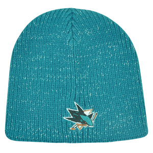 NHL San Jose Sharks Sookie Womens Cuffless Knit Beanie Toque Hat Hockey Winter
