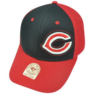 MLB '47 Brand Cincinnati Reds Catawampus Adjustable Baseball Velcro Hat Cap