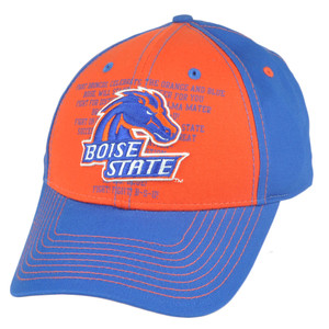 NCAA Boise State Broncos Fight Song Strapback Velcro College Adjustable Hat Cap