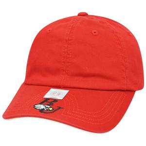 NCAA American Needle Benedictine Eagles Flambam Women Ladies Velcro Red Hat Cap