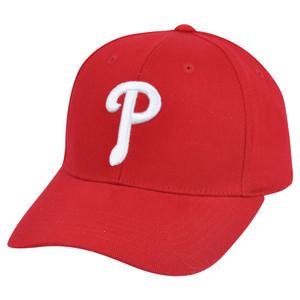 MLB Fan Favorite Philadelphia Phillies Taylor Logo Adjustable Velcro Hat Cap