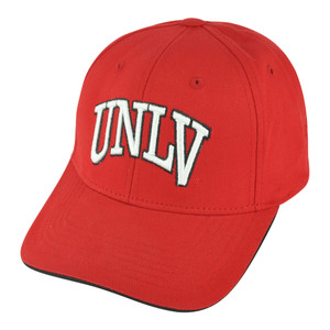 NCAA UNLV Las Vegas Running Rebels S&L Chino Velcro Adjustable College Hat Cap