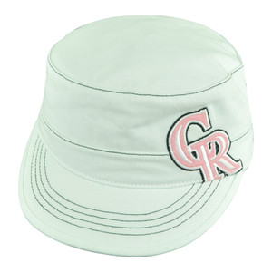 MLB Colorado Rockies Craze Women Ladies Military Fatigue Cadet Buckle Hat Cap