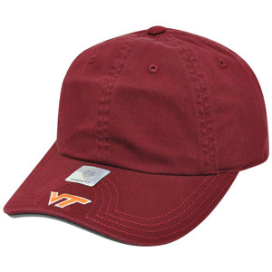 NCAA American Needle Virginia Tech Hokies Flambam Women Ladies Hat Cap Burgundy