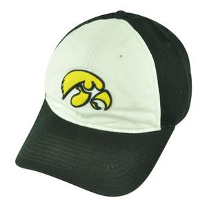 NCAA Iowa Hawkeyes Blake Velcro Two Tone Garment Wash Relax Hat Cap Fan Favorite