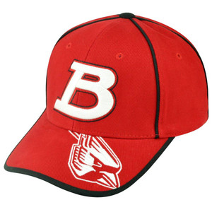 NCAA Captivating Headgear Ball State Cardinals Adjustable College Velcro Hat Cap