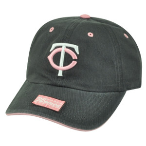 MLB Minnesota Twins Opening Act Women Ladies Sun Buckle Garment Washed Hat Cap