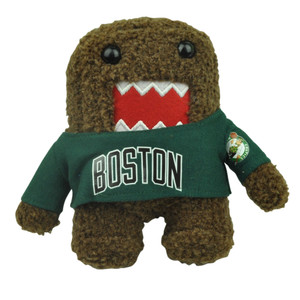 "NBA Domo Kun Boston Celtics Plush Small Teddy Mini 6"" Brown Cartoon Stuffed"