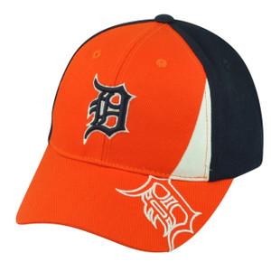 MLB Detroit Tigers Fan Favorite Adjustable Velcro Hat Cap Citizen Navy Blue