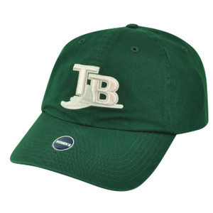 MLB Tampa Bay Rays Green Sun Buckle Relaxed Garment Wash Hat Cap Women Ladies