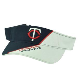 MLB Minnesota Twins Sun Visor Adjustable Hat Split 2Tone Fan Favorite Baseball