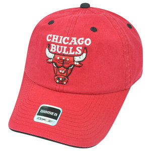 NBA Adidas Chicago Bulls Women Rhinestone Relaxed Hat Cap Sun Buckle Superstar