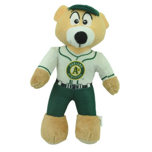 MLB Oakland Athletics Plush Mini Teddy Bear Small 9' Baseball Player Toy Decor