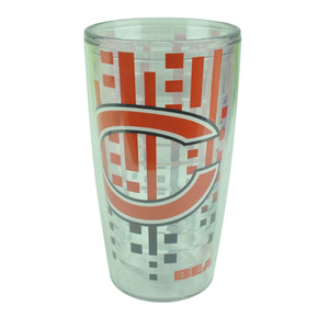 NFL Chicago Bears Slime line 16oz Tumbler Translucent Cup Design Water Liquid