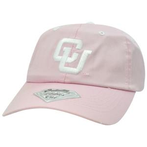 NCAA Colorado Buffaloes Buffs Twill Garment Wash Women Ladies Velcro Hat Cap