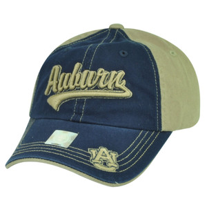 NCAA Auburn Tigers Captivating Headgear Garment Wash Relaxed Sun Buckle Hat Cap