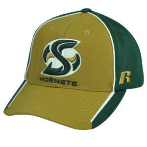 NCAA Sacramento State Hornets Russell Two Tone Hat Cap Velcro Adjustable Sport