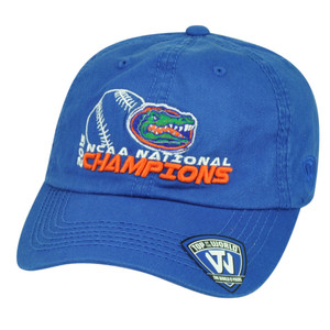 2015 NCAA National Champions Florida Gators Women's College Top of World Hat Cap