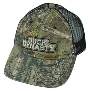 A&E Reality Show Duck Dynasty Distressed Camouflage Realtree Slouch Mesh Hat Cap