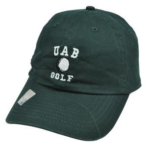 NCAA UAB Alabama Birmingham Blazers Golf Garment Wash Style Top of World Hat Cap
