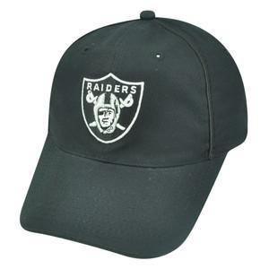 NFL Oakland Raiders Reebok Jules Clip Buckle Garment Wash Hat Cap Womens Black