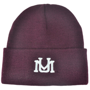 NCAA Montana Grizzlies Dusy Cuffed Thick Beanie Knit Skully Toque Hat Burgundy