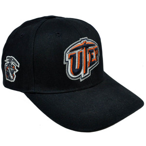 NCAA Utep Miners Nickel Unbrush Constructed Cotton Cap Hat Velcro Adjustable