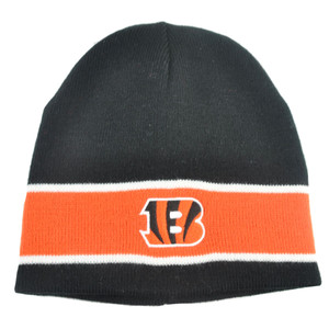 NFL Cincinnati Bengals Porter Cuffless Beanie Winter Knit Gear Hat Reversible