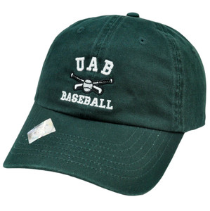 NCAA UAB Alabama Birmingham Blazers Baseball Slouch Relaxed Style TOW Hat Cap