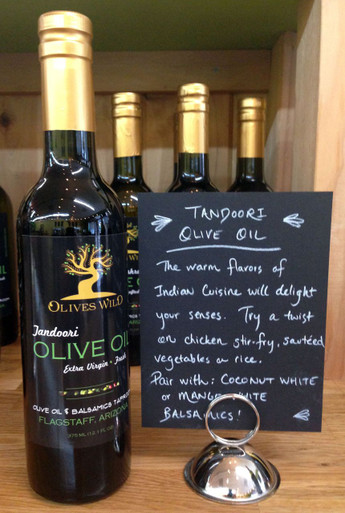 Tandoori Olive Oil from Olives Wild