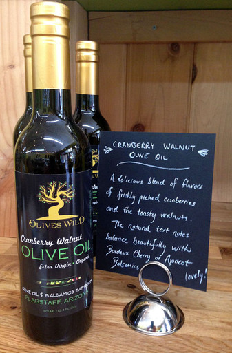 Cranberry Walnut Olive Oil from Olives Wild