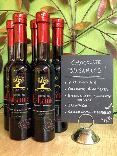 Chocolate Balsamics from Olives Wild Flagstaff