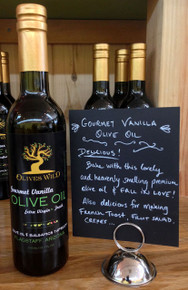 Gourmet Vanilla Olive Oil from Olives Wild