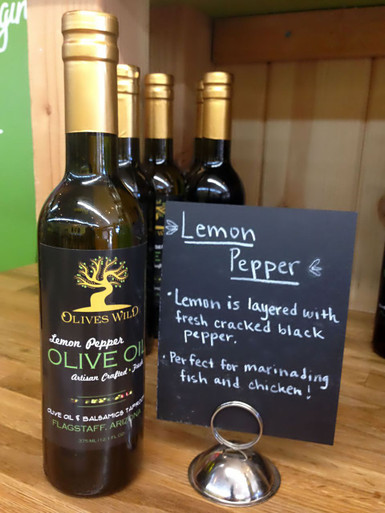 Lemon Pepper Olive Oil