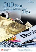 500 Best Genealogy and Family History Tips