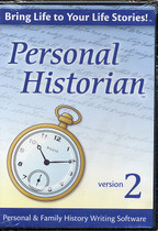 Personal Historian 2: Personal and Family History Writing Software