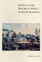 Journal of the Historical Society of South Australia Number 26 (1998)