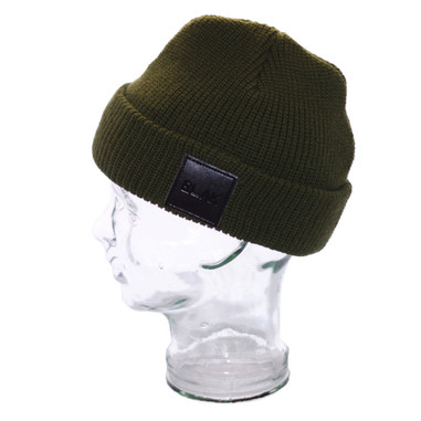 BLAK Apparel Street Beanie Dark Green