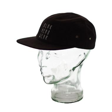 BLAK Apparel Five 0 Hat Black
