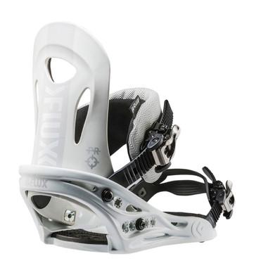Flux 2018 PR Snowboard Bindings White