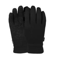 POW Poly Pro TT Glove Liners Black