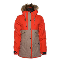 Saga Oxford Parka Jacket Grenadine