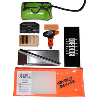 Shred Rescue PRO Snowboard Tuning Kit + Iron