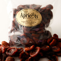 Natural Unsulphured Dried Blenheim Apricots (8 lbs. Bulk)